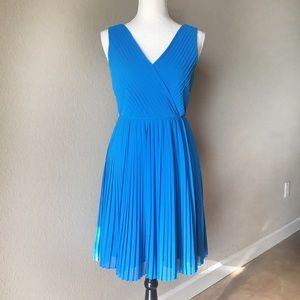 Modcloth Geode Chiffon Pleated Dress